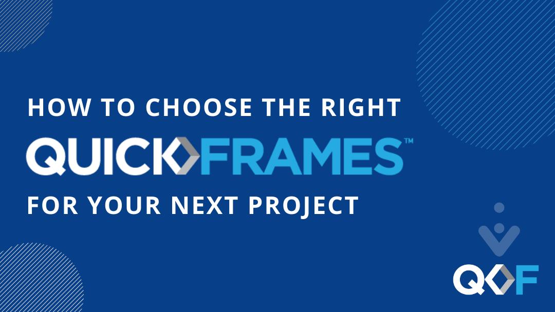QuickFrames Product Flow Chart