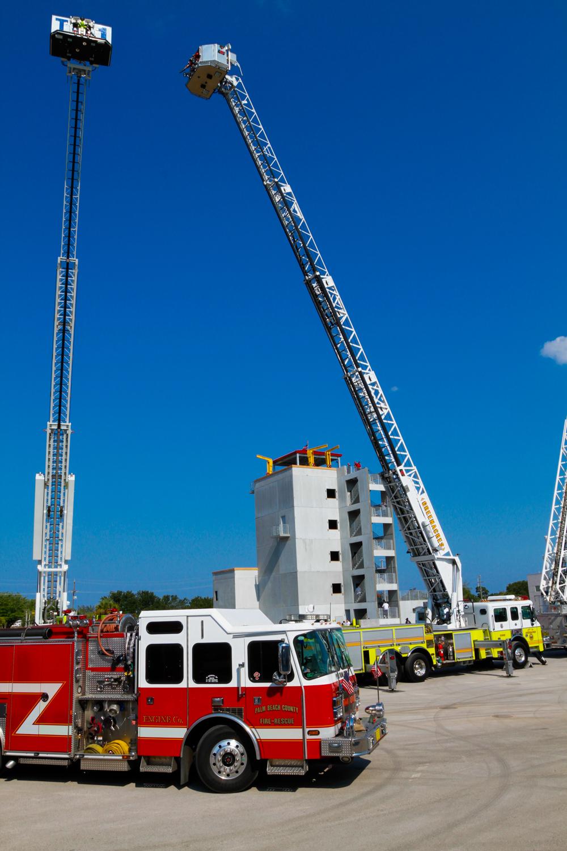 Palm Beach State College Fire Trucks