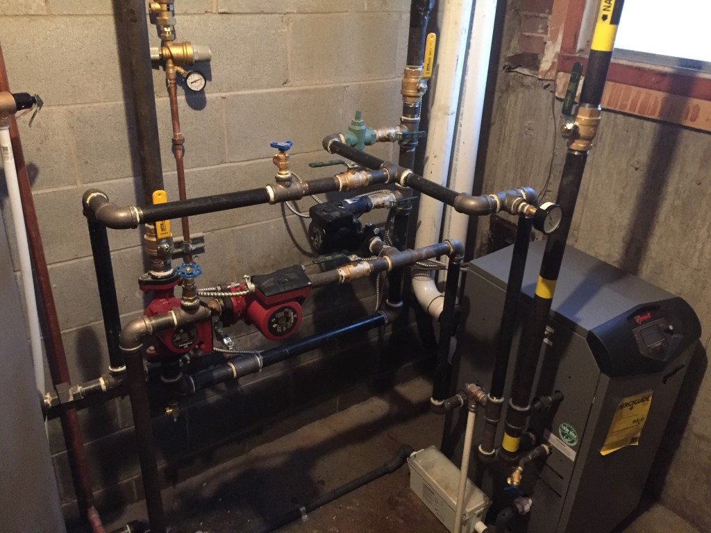 4plex heating and hot water