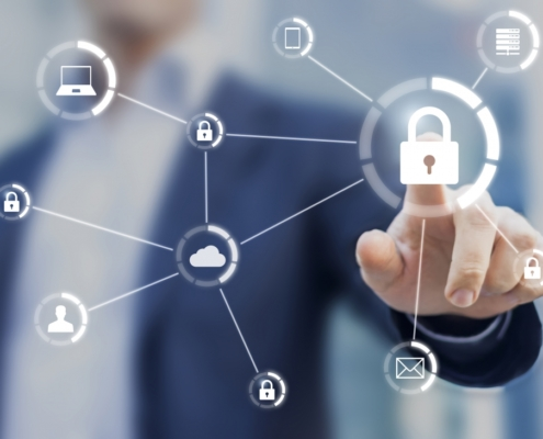 Cybersecurity network of connected devices and personal data security