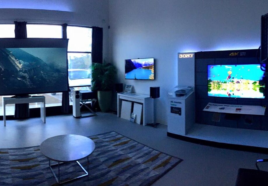 Game room with multiple TVs