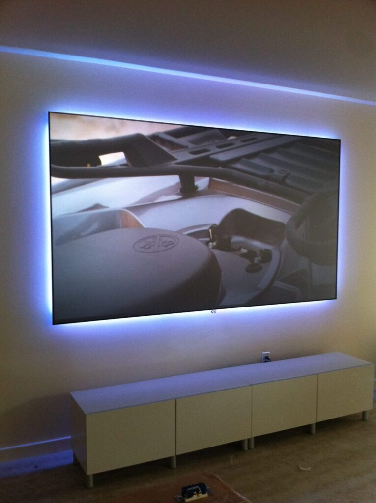 Custom Decor TV Lighting