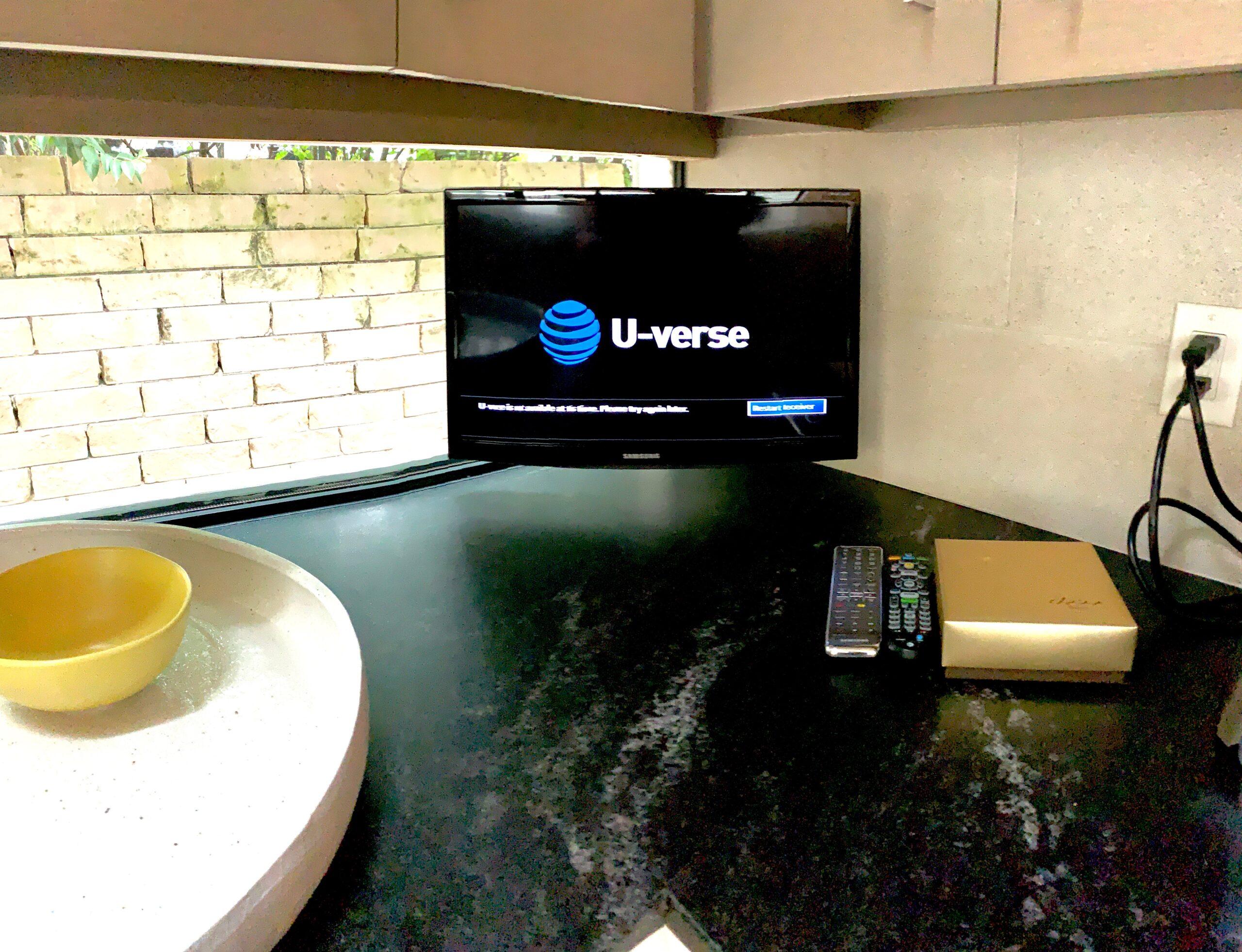 Kitchen Smart TV home automation