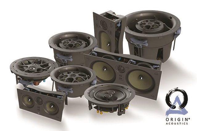Origin Acoustics outdoor living speakers, and in-ground speakers