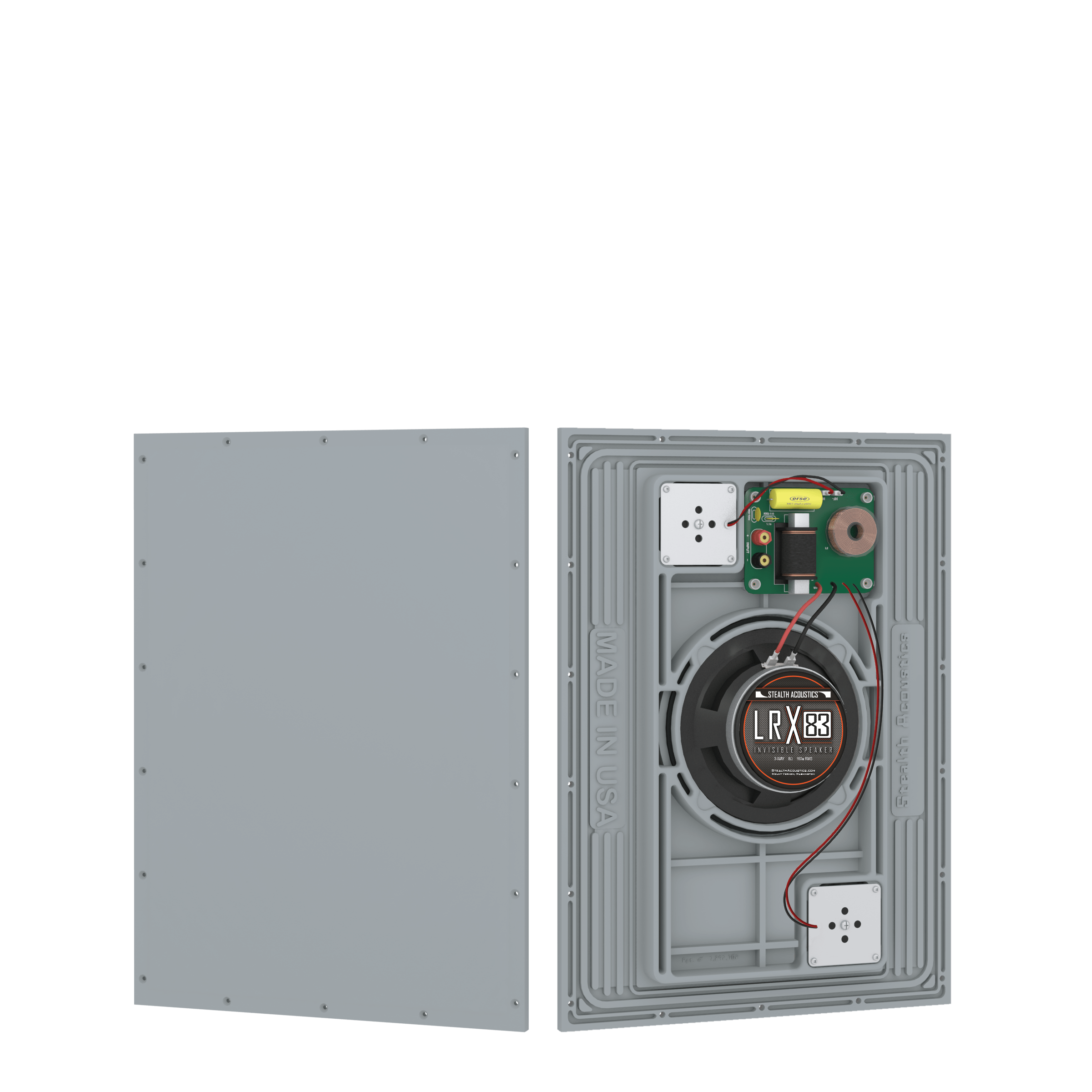Stealth LRX-83 speakers