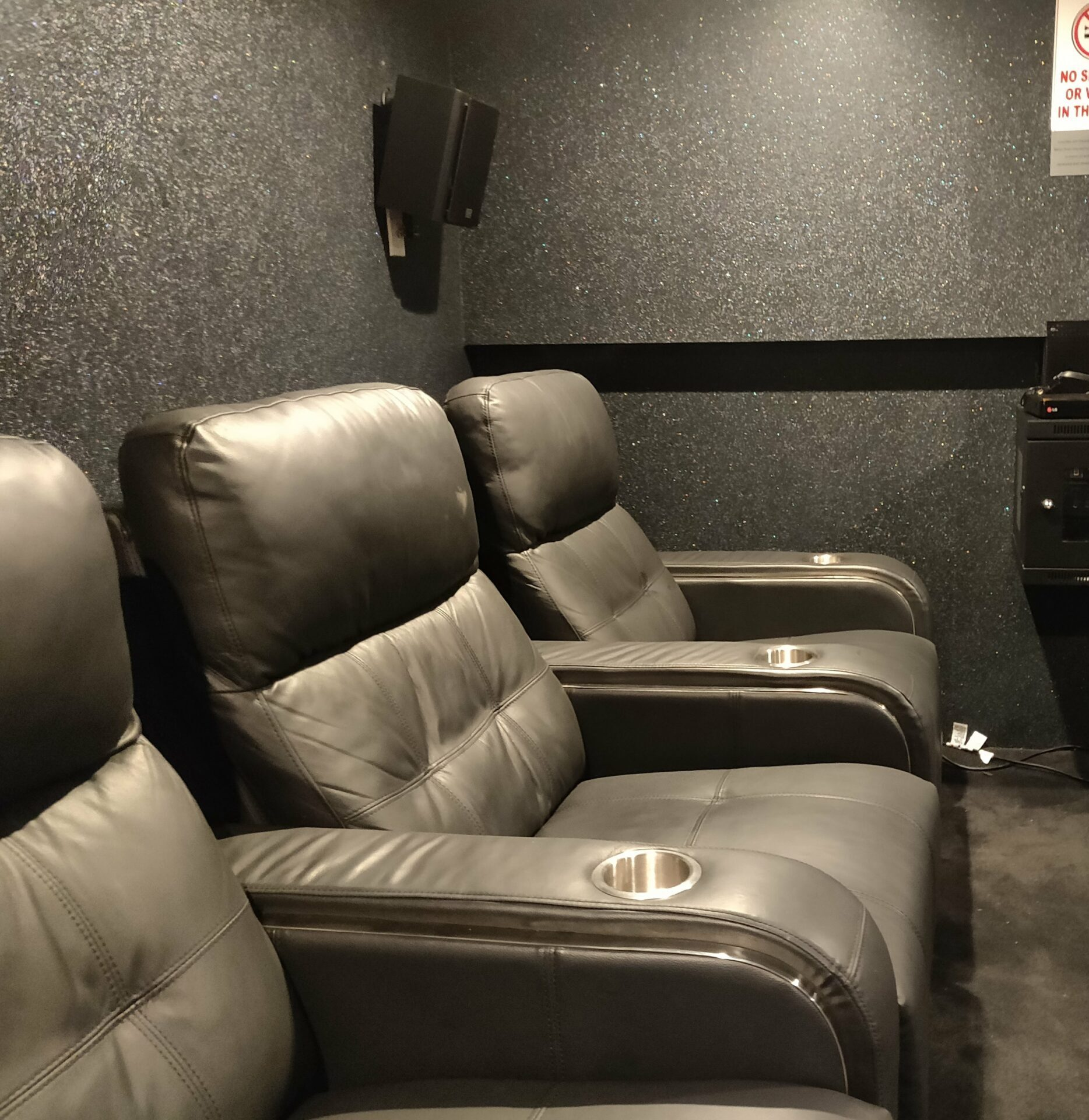 home theater custom leather theater seating recliner chairs