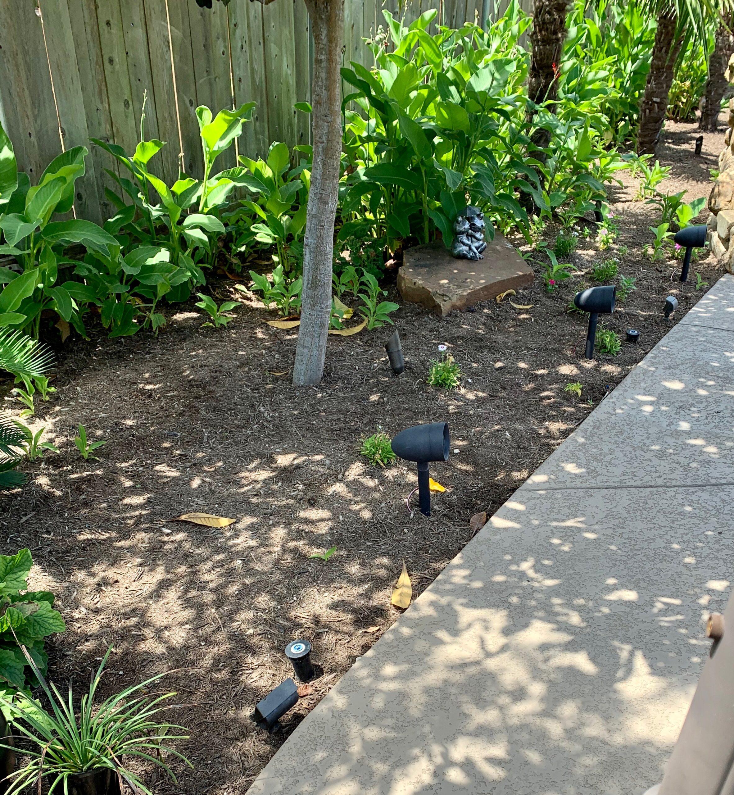 outdoor pathway in-ground speakers