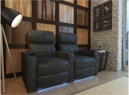 Custom seating with lights
