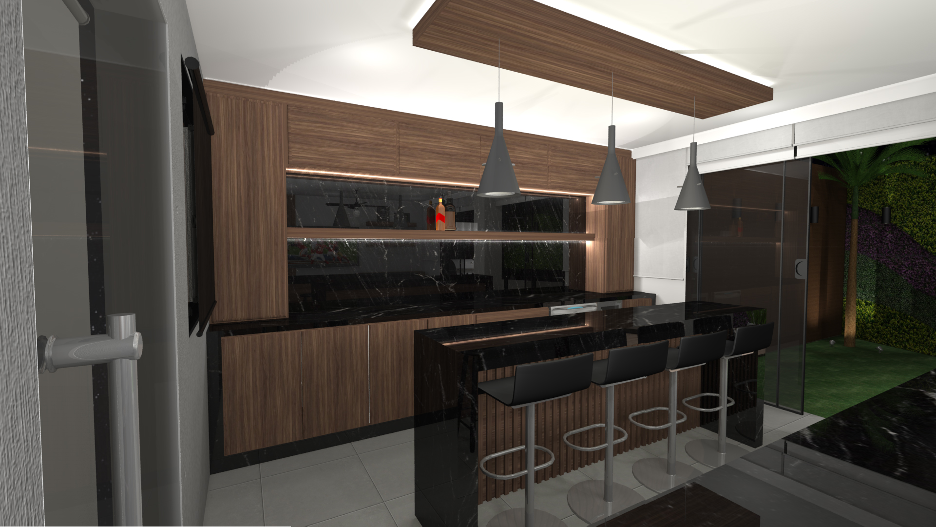 Render Proyecto Sport Bar Country