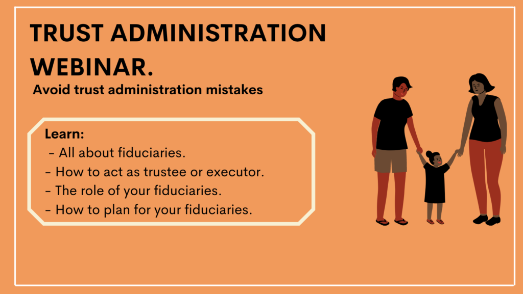 Trustee School Webinar: Avoid Trust Administration Mistakes!