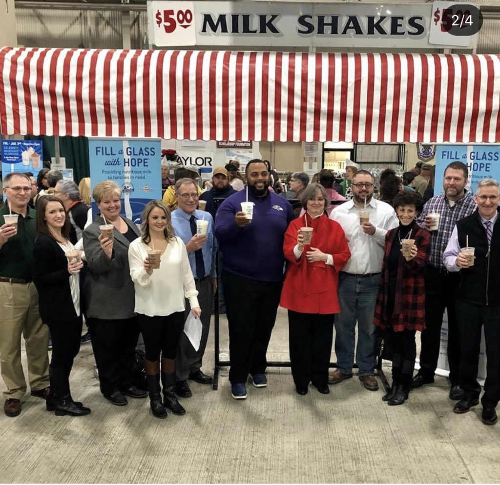 Sponsors toast to Fill a Glass with Hope