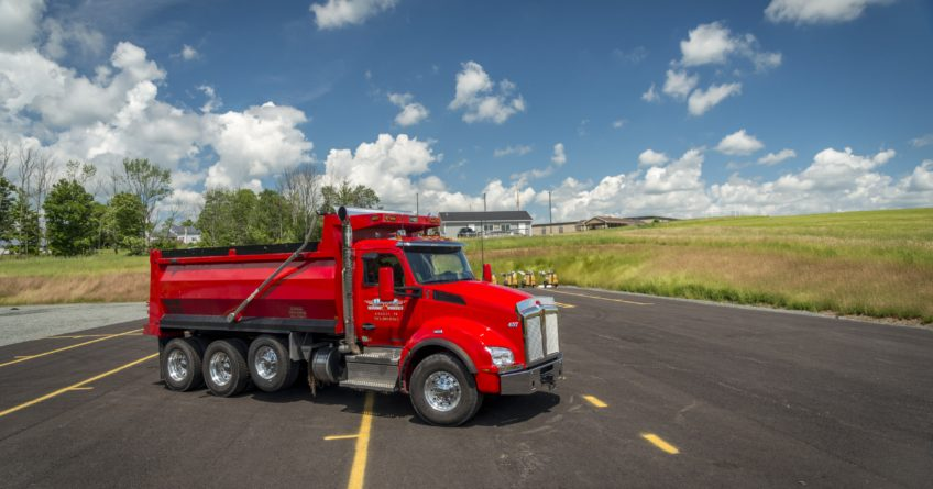 Red CDL Truck