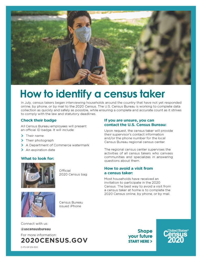 2020 Census Fact Sheet