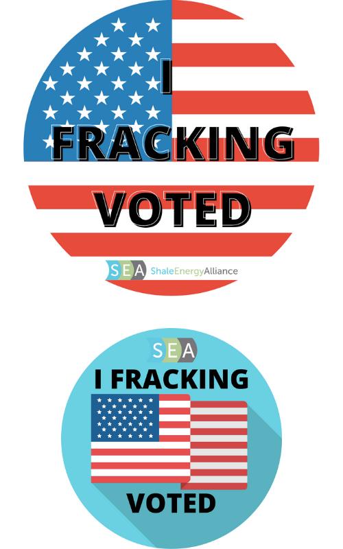 Pledge to Vote stickers