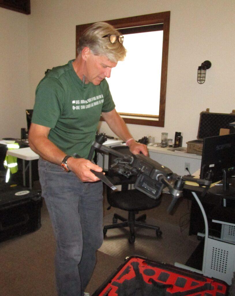 Resource Environmental Management drone