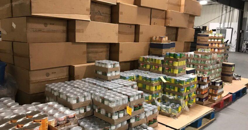 Trehab food boxes