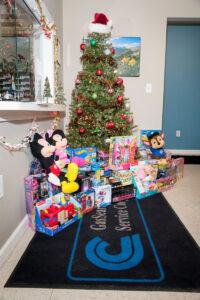 Toy Drive Christmas Tree