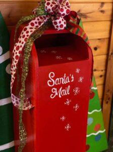 Tall Pines Santa Mailbox