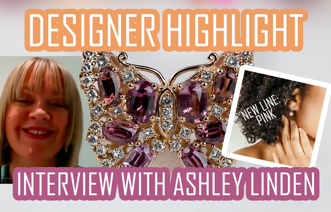 """Ashley Linden on Her New Jewelry Line """"Pink"""""""