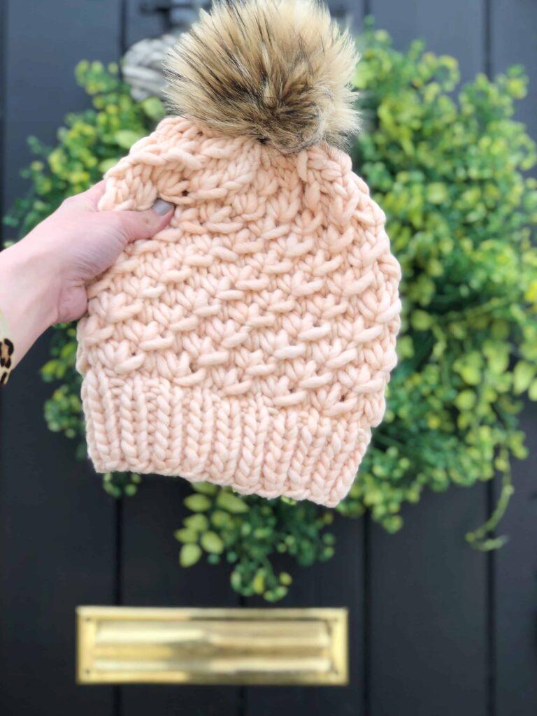 Chunky Hat Knitting Pattern
