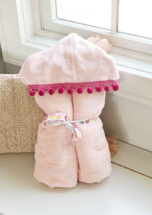 Easy DIY Hooded Towel [Tutorial with Photos]