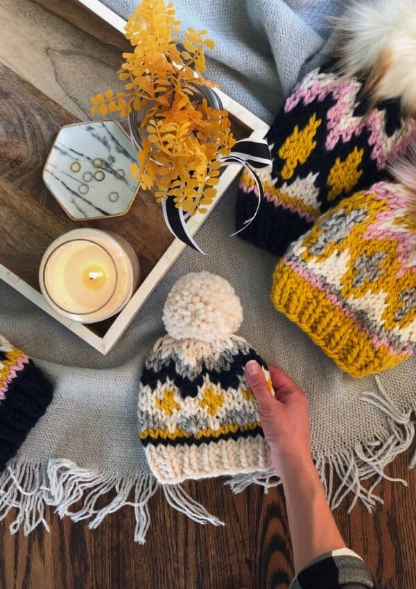 Fair Isle vs. Stranded Colorwork Knitting – The Glimmer Beanie.