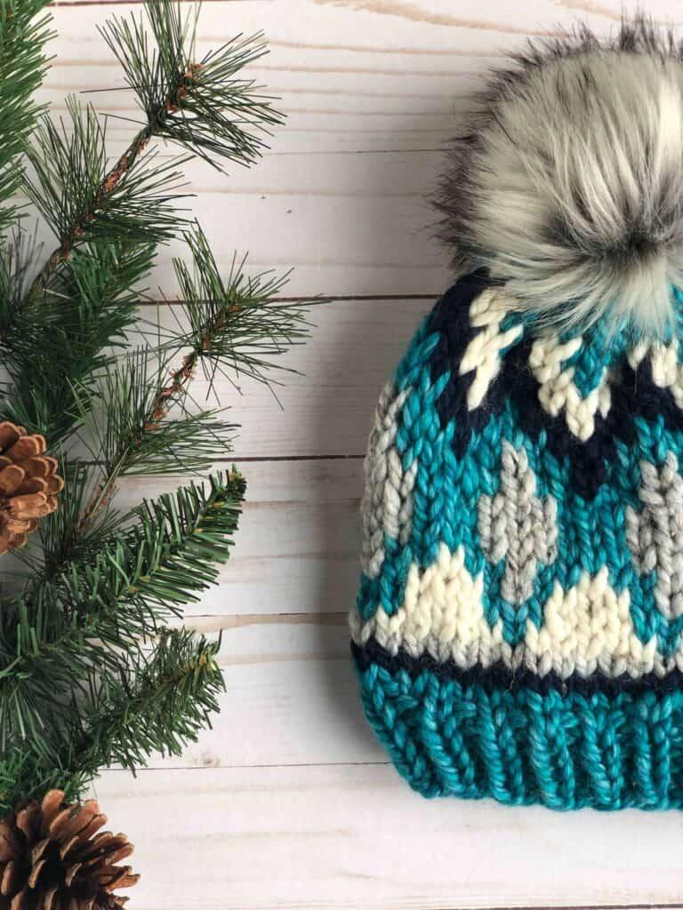 Child Fair Isle Hat Knitting Pattern