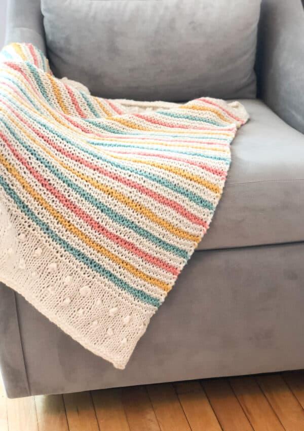 Summer Throwback – Blanket Knitting Pattern