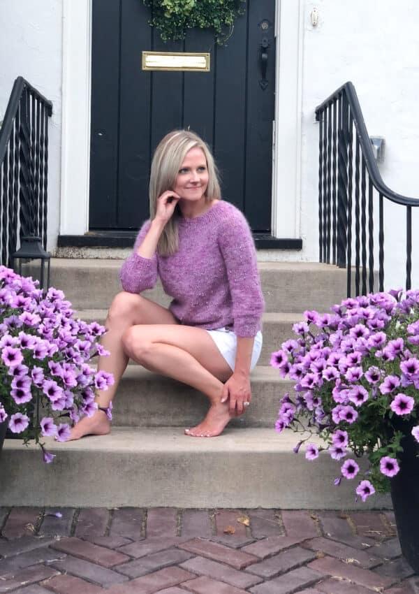 Lavande Crop – Easy Sweater Knitting Pattern