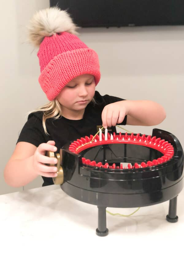Addi Knitting Machine for kids review