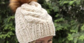 Free Cable Hat Knitting Pattern