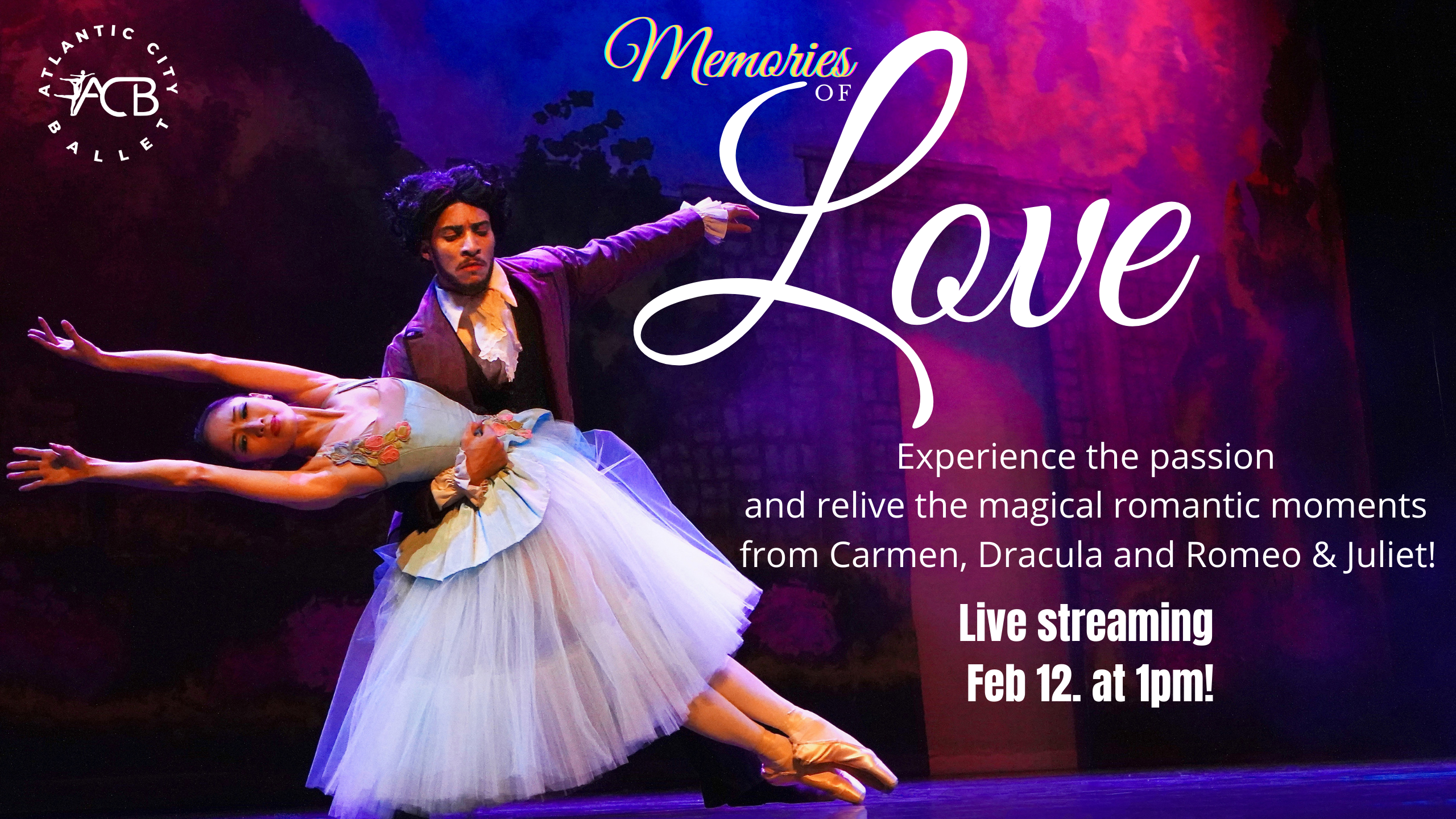 AC ballet memories of love flyer for website