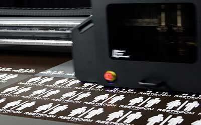 UV Digital Printing – The Future of Fast Signage