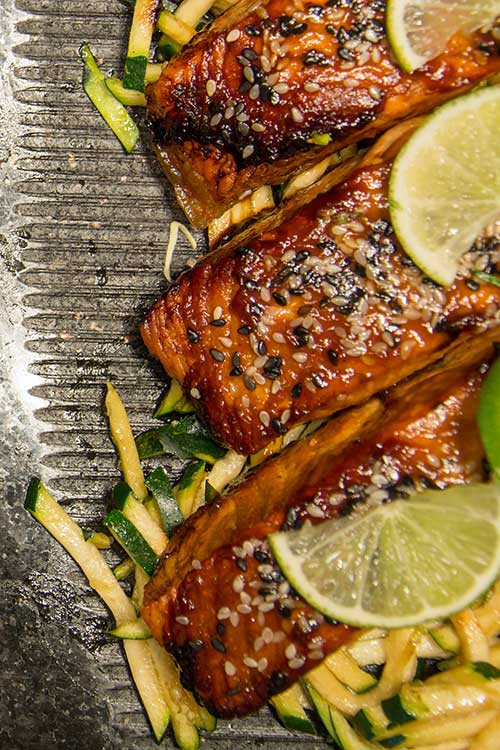 fresh seafood char-grilled to succulent perfection by award winning master chef in Texas USA