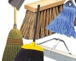 Brooms, Mops & Brushes