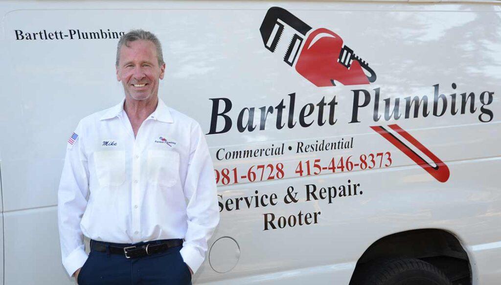 Bartlett Plumbing Van