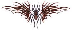 RED DEVIL SPIDER - TRIBAL