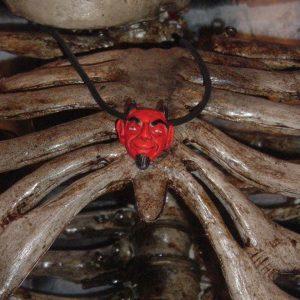DEVIL NECKLACE - LEATHER CORD