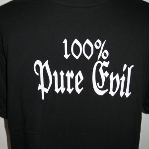 100% PURE EVIL T-SHIRT L