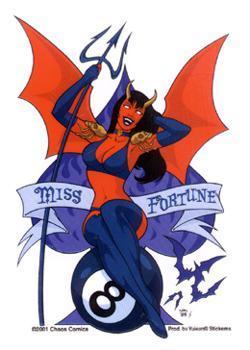 MISS FORTUNE - DEMON GIRL