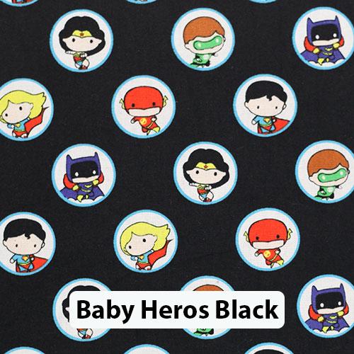 Baby Heroes Black