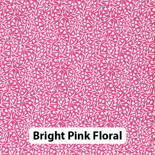 Bright Pink Floral