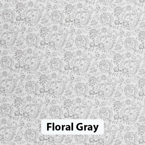 Floral Gray