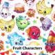 Spk Fruit Characters