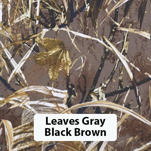 Leaves Gray Black Brown