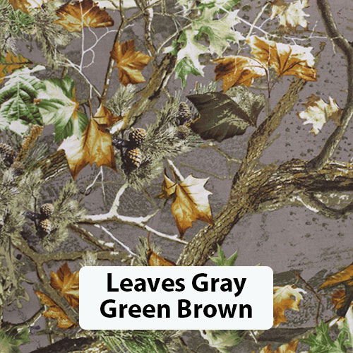 Leaves Gray Green Brown