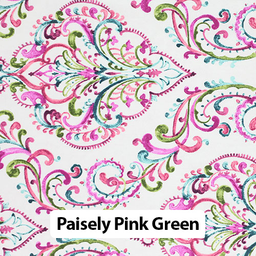 Floral Pink Green 1