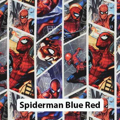 Spiderman Blue Red