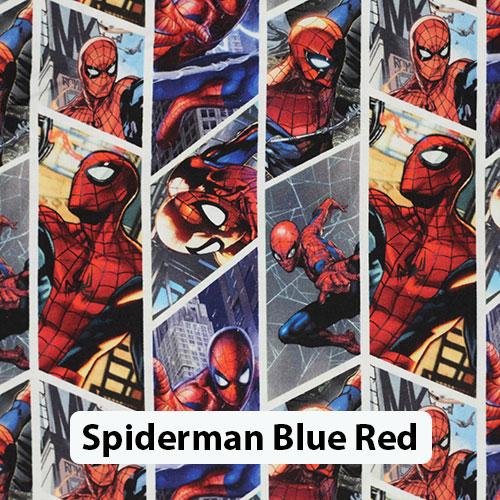 Spiderman Blue Red