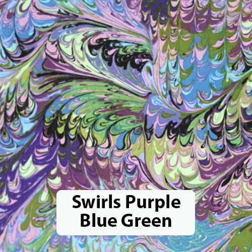 Swirls Purple Blue Green 2